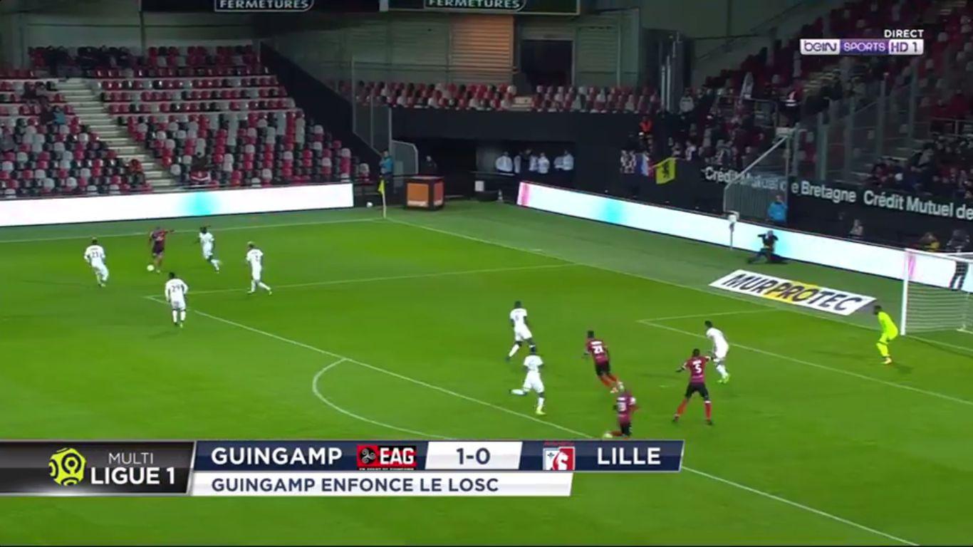 16-09-2017 - Guingamp 1-0 Lille