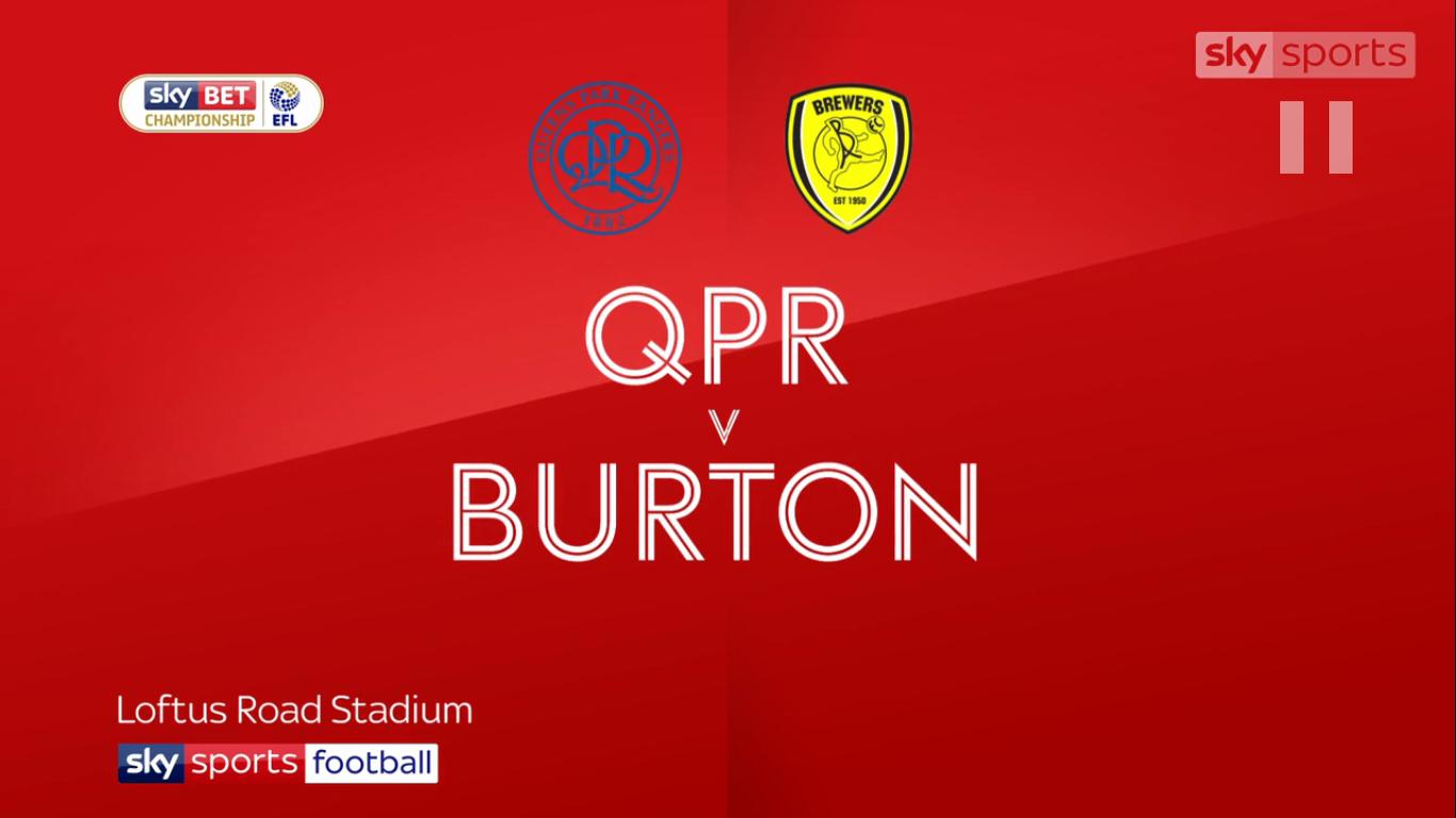 23-09-2017 - Queens Park Rangers 0-0 Burton Albion (CHAMPIONSHIP)