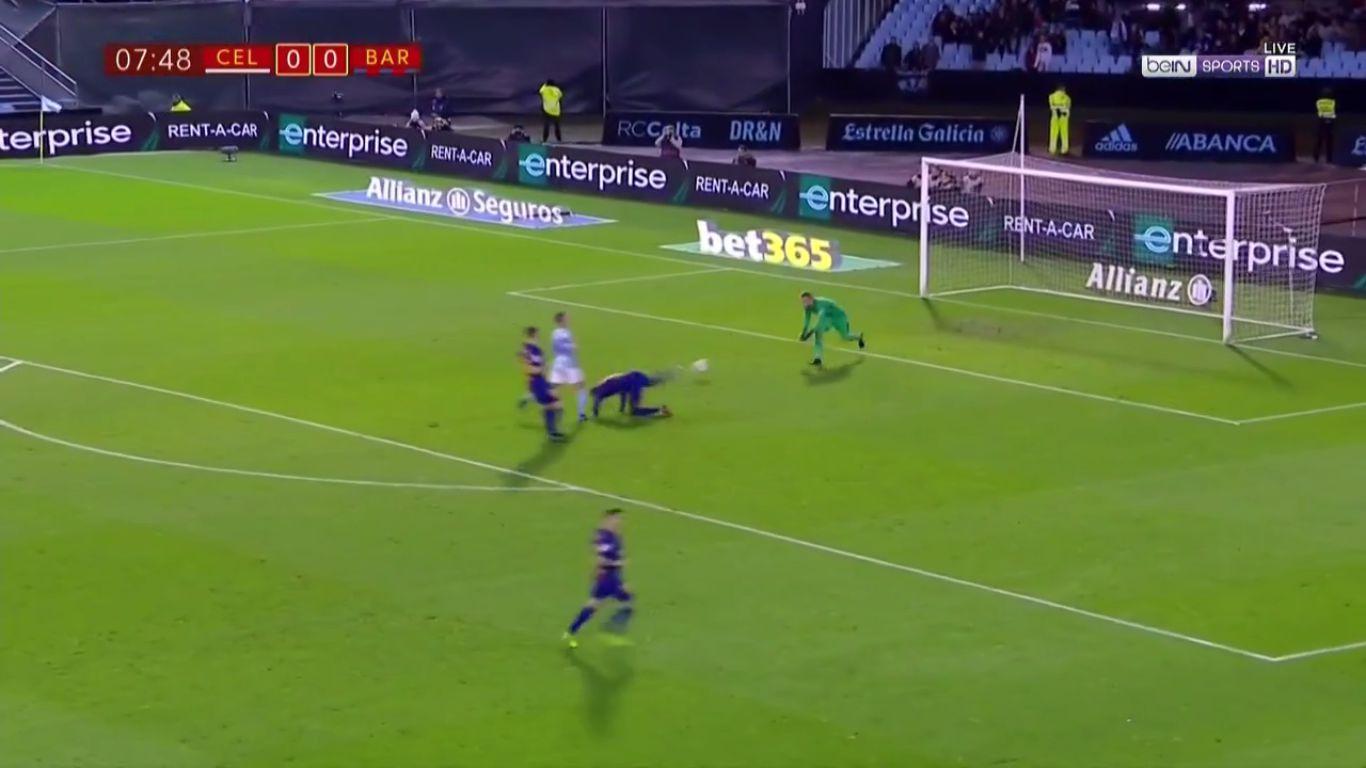 04-01-2018 - Celta Vigo 1-1 Barcelona (COPA DEL REY)