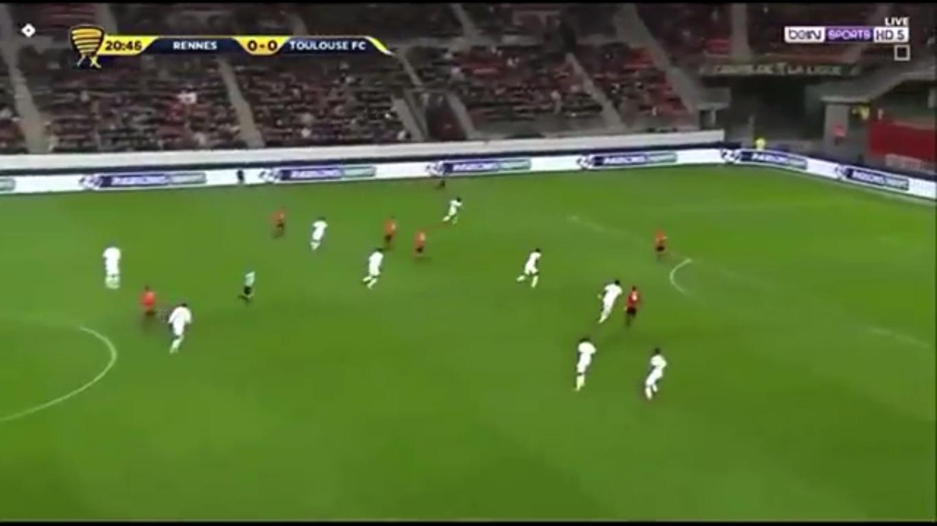 10-01-2018 - Rennes 4-2 Toulouse (LEAGUE CUP)