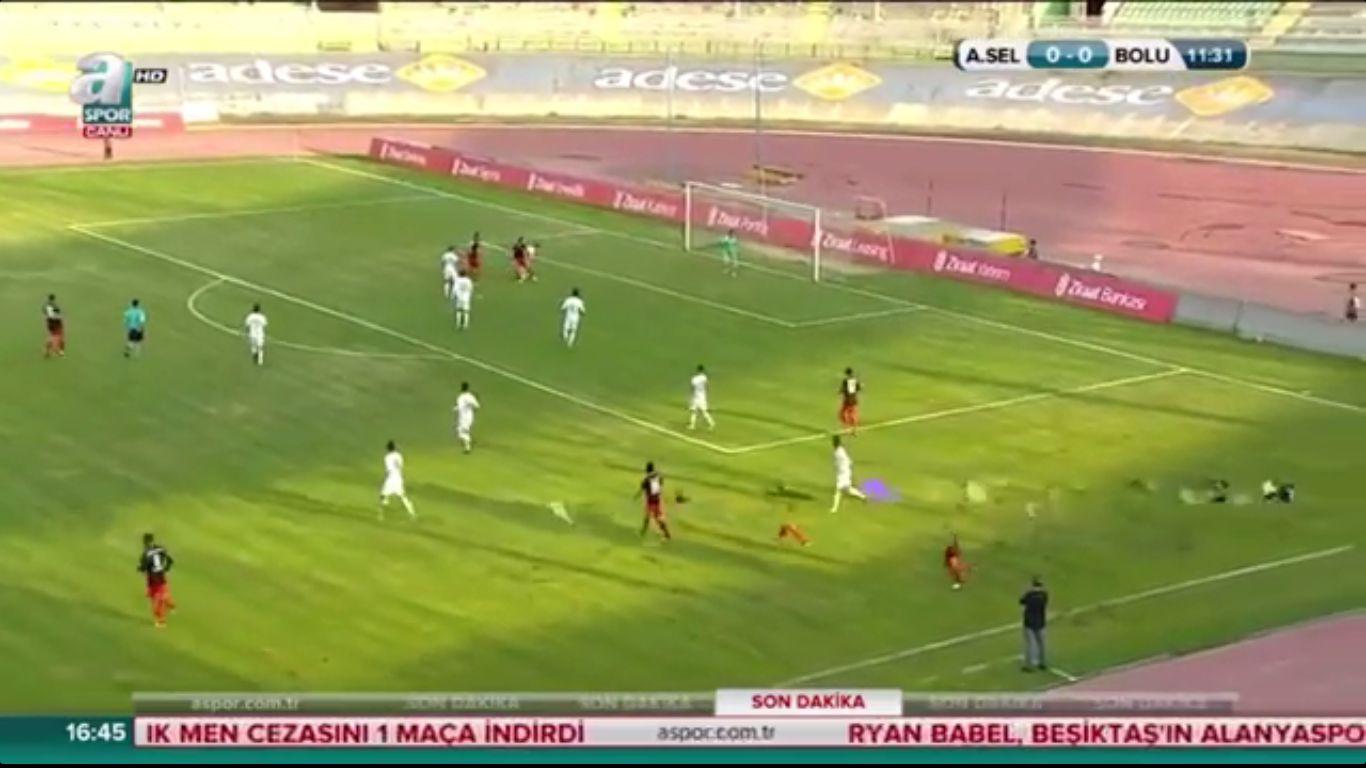 26-10-2017 - Anadolu Selcukspor 0-1 Boluspor (ZIRAAT CUP)
