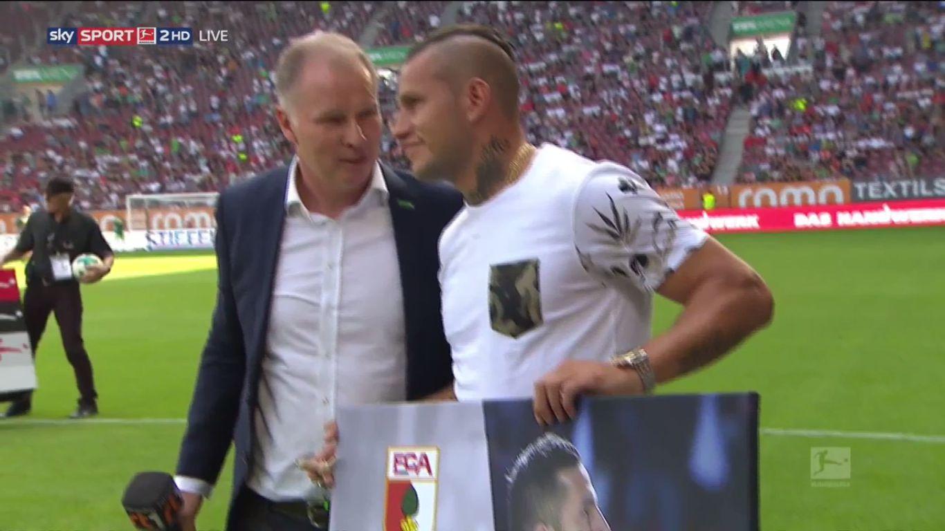 26-08-2017 - Augsburg 2-2 Borussia Moenchengladbach