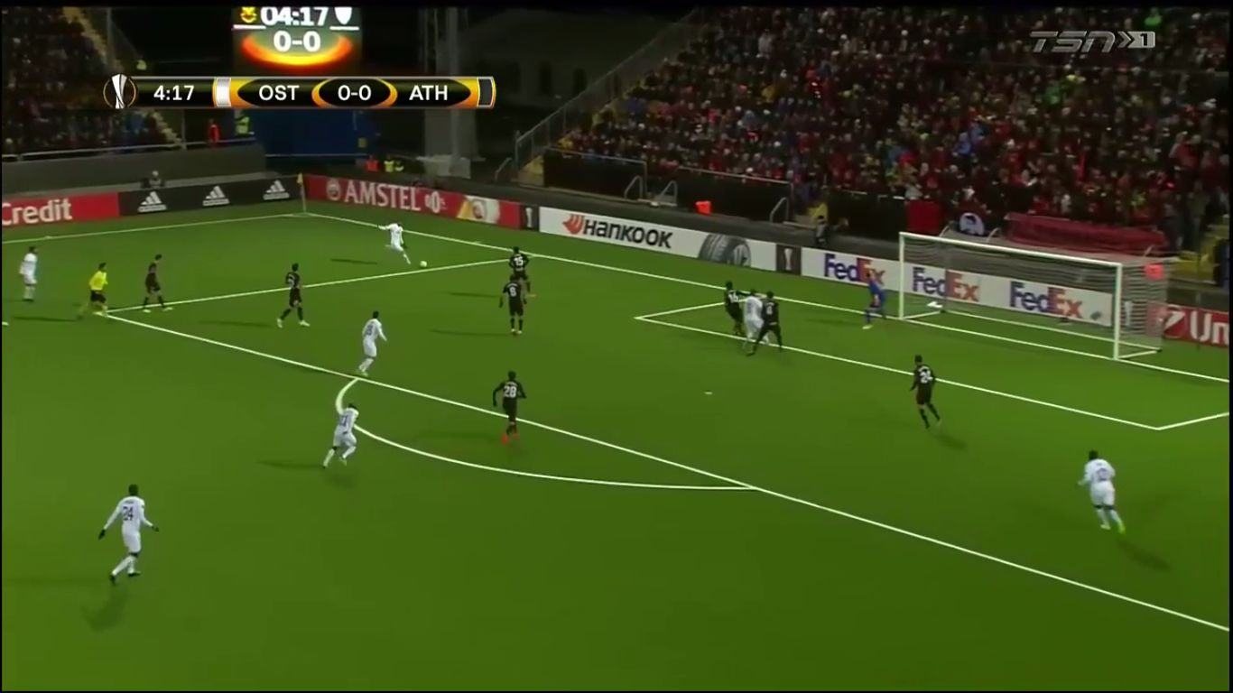 19-10-2017 - Oestersunds FK 2-2 Athletic Bilbao (EUROPA LEAGUE)