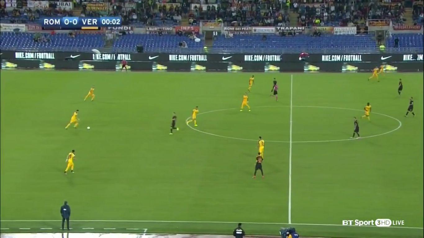 16-09-2017 - Roma 3-0 Hellas Verona