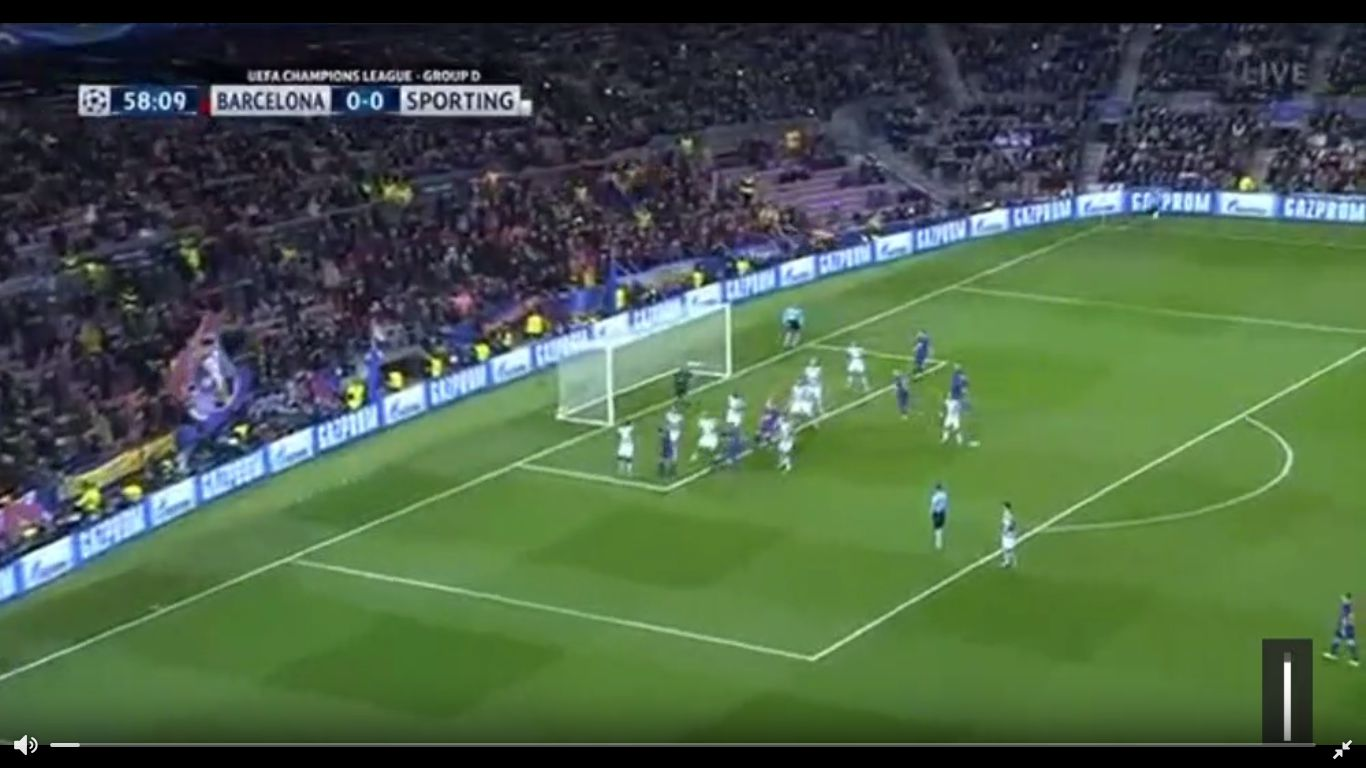 05-12-2017 - Barcelona 2-0 Sporting CP (CHAMPIONS LEAGUE)