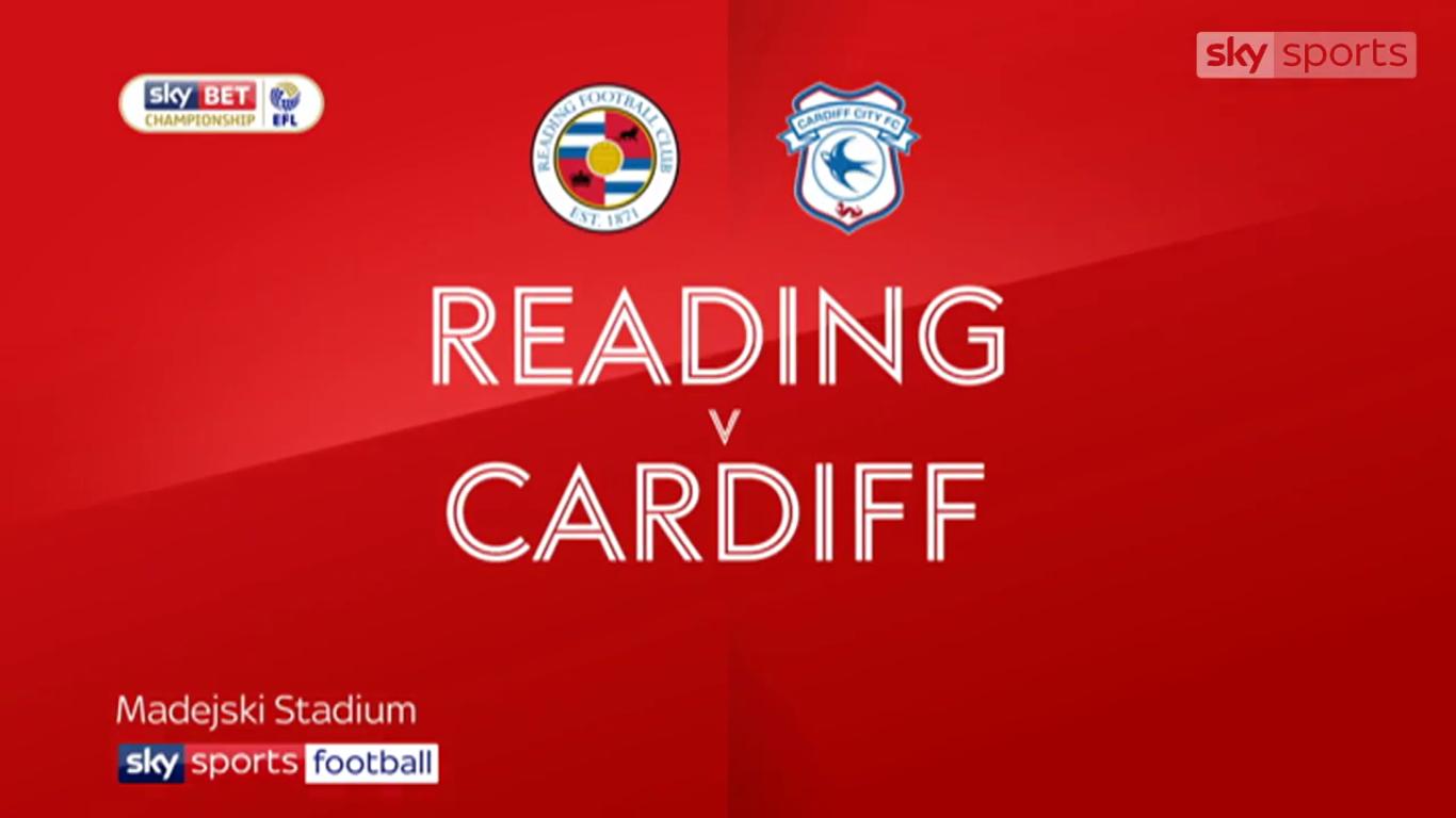 11-12-2017 - Reading 2-2 Cardiff City (CHAMPIONSHIP)