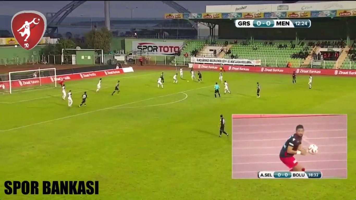 26-10-2017 - Giresunspor 2-1 Menemen Belediyespor (ZIRAAT CUP)