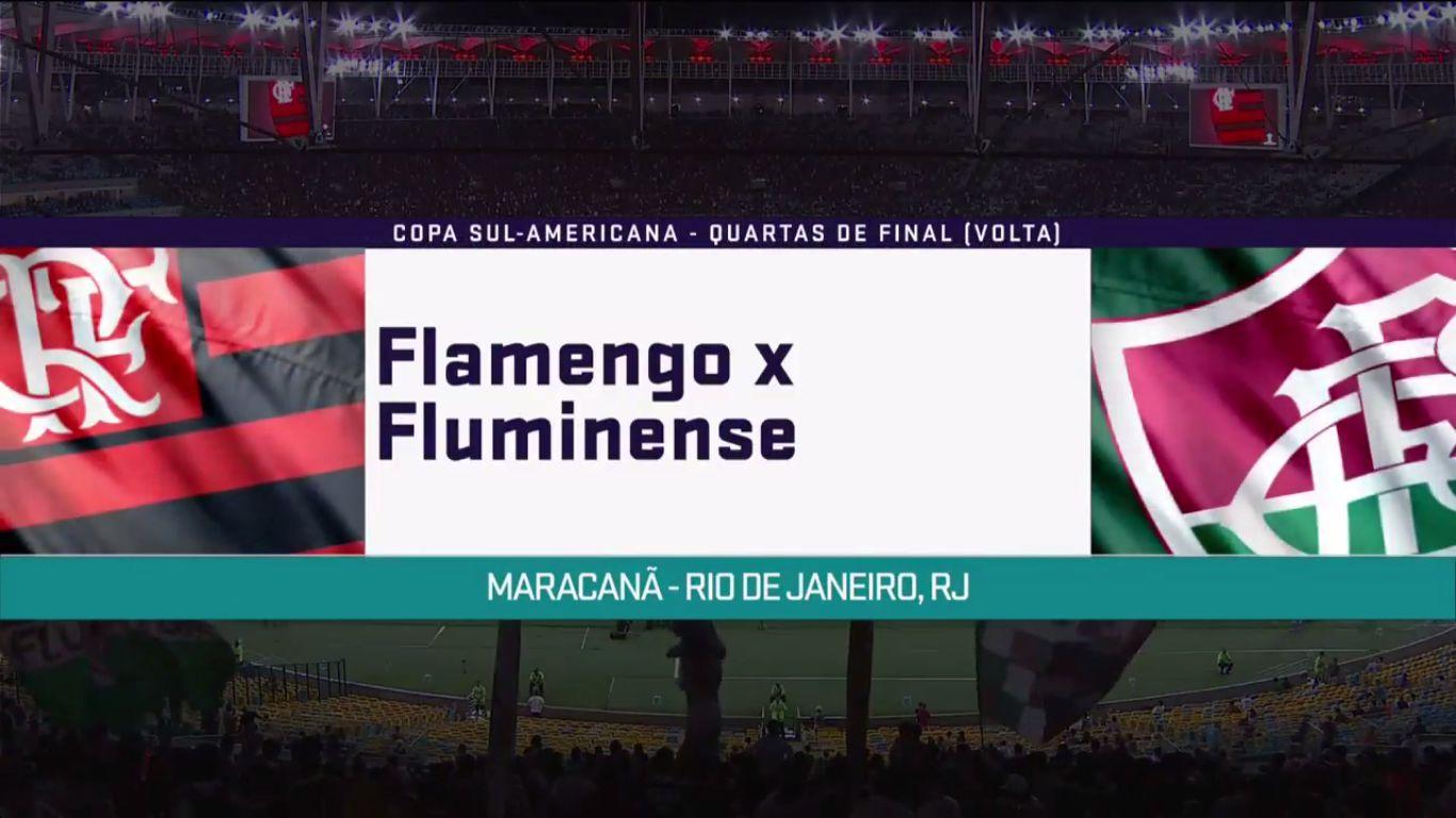 02-11-2017 - Flamengo 3-3 Fluminense (COPA SUDAMERICANA)