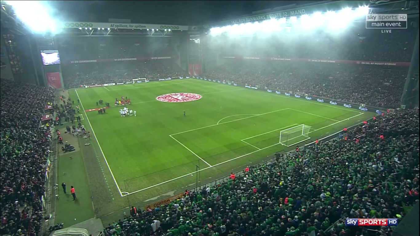 11-11-2017 - Denmark 0-0 Ireland (WORLD CUP QUALIF. PLAY OFF)