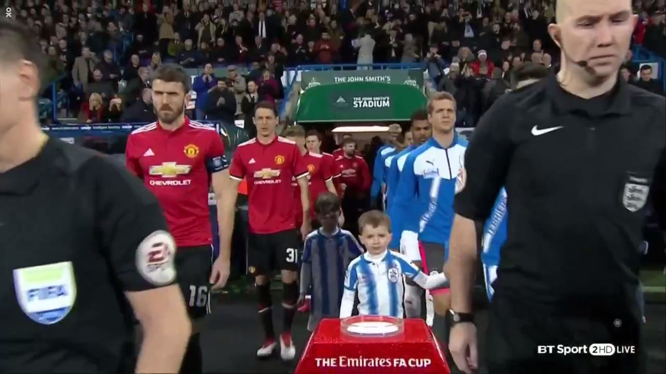 17-02-2018 - Huddersfield Town 0-2 Manchester United (FA CUP)
