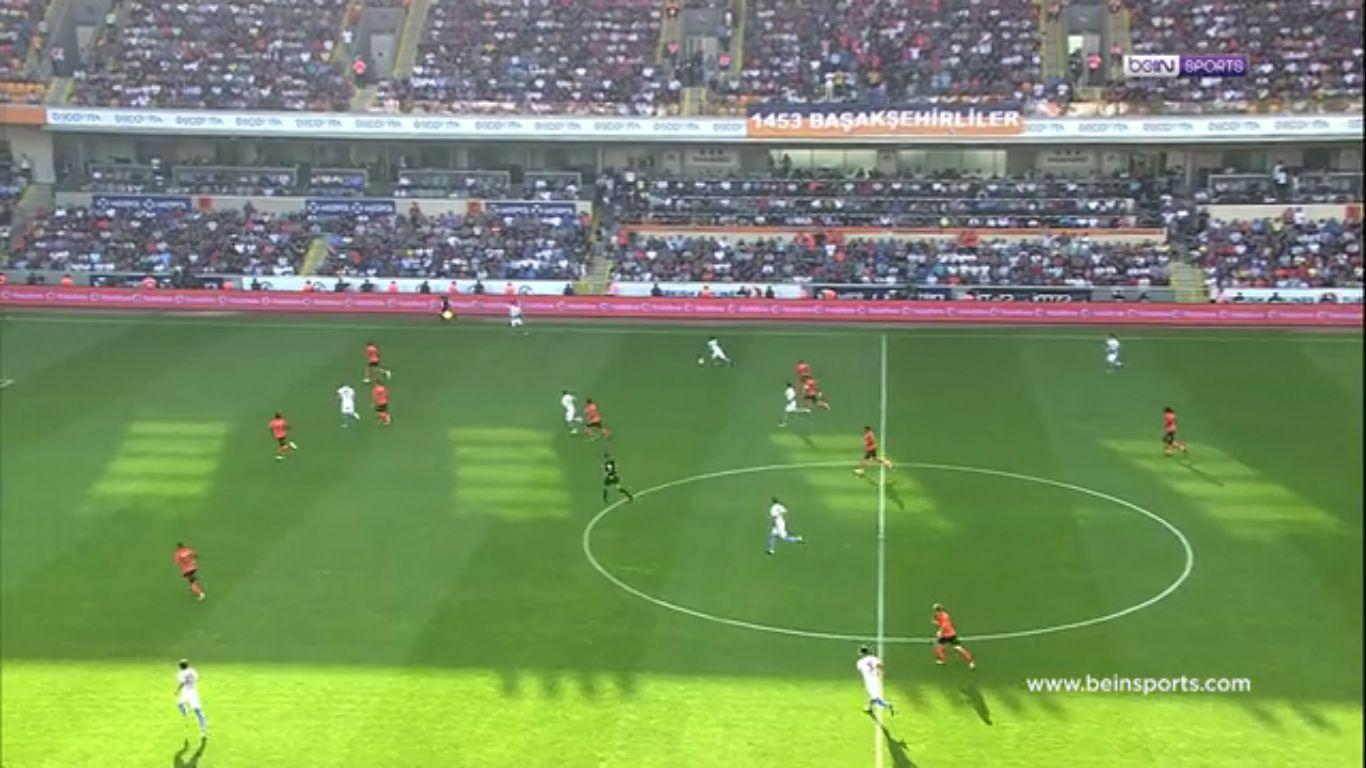 17-09-2017 - Istanbul Basaksehir 2-2 Trabzonspor