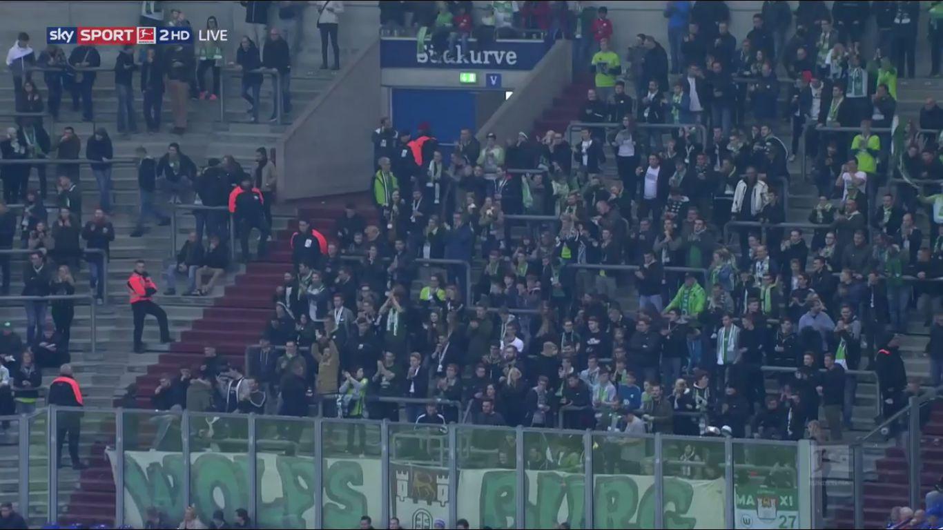 28-10-2017 - Schalke 04 1-1 Wolfsburg