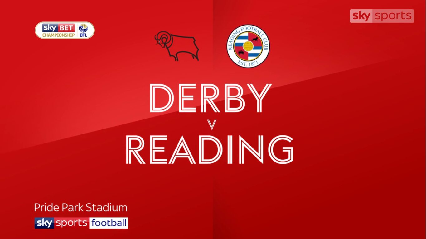 04-11-2017 - Derby County 2-4 Reading (CHAMPIONSHIP)