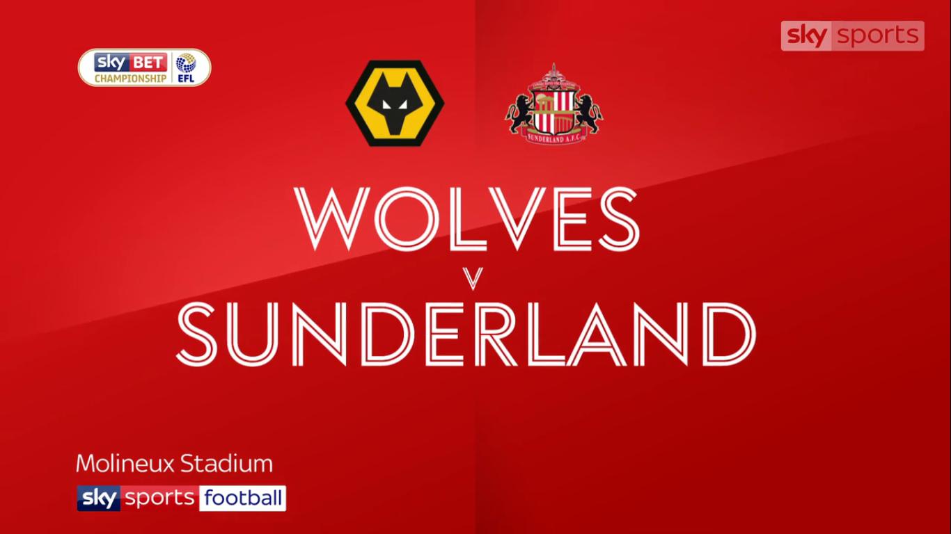 09-12-2017 - Wolverhampton Wanderers 0-0 Sunderland (CHAMPIONSHIP)