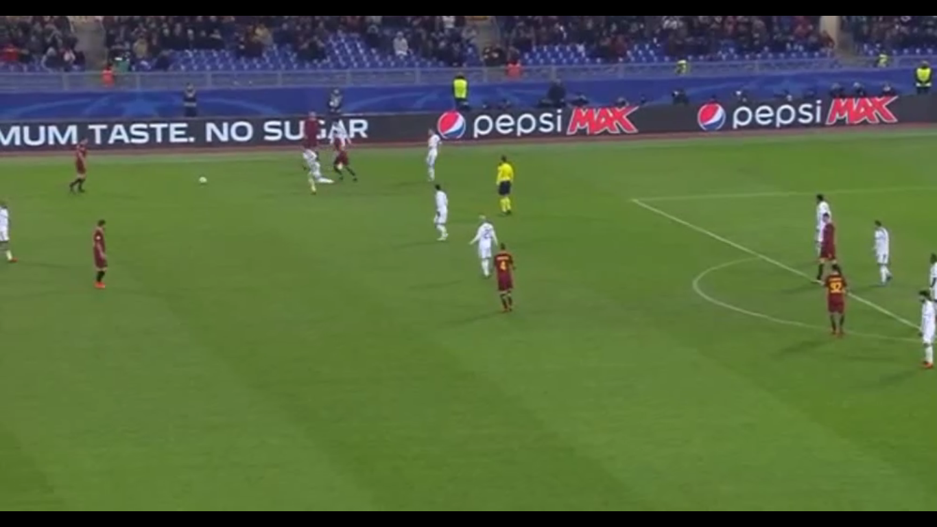 05-12-2017 - Roma 1-0 Qarabag FK (CHAMPIONS LEAGUE)