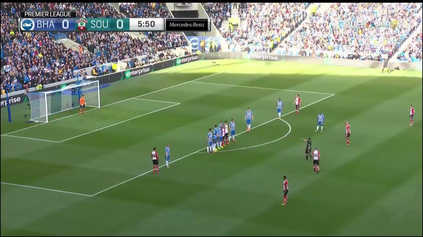 29-10-2017 - Brighton & Hove Albion 1-1 Southampton