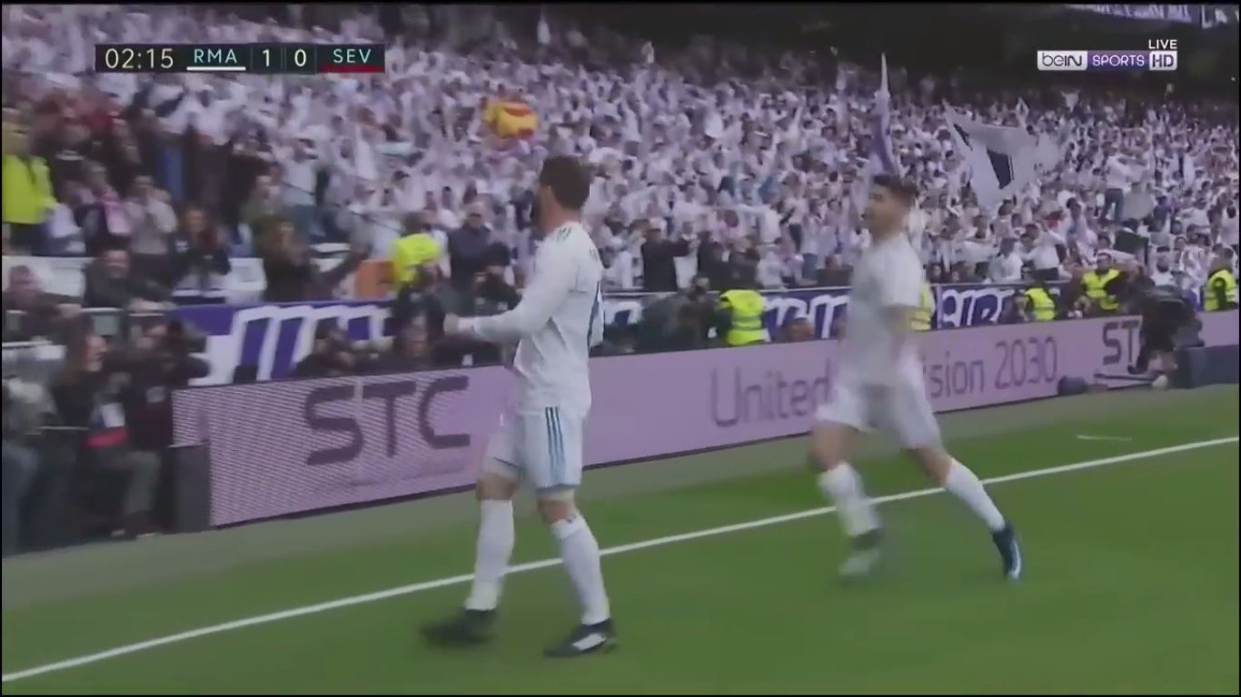 09-12-2017 - Real Madrid 5-0 Sevilla