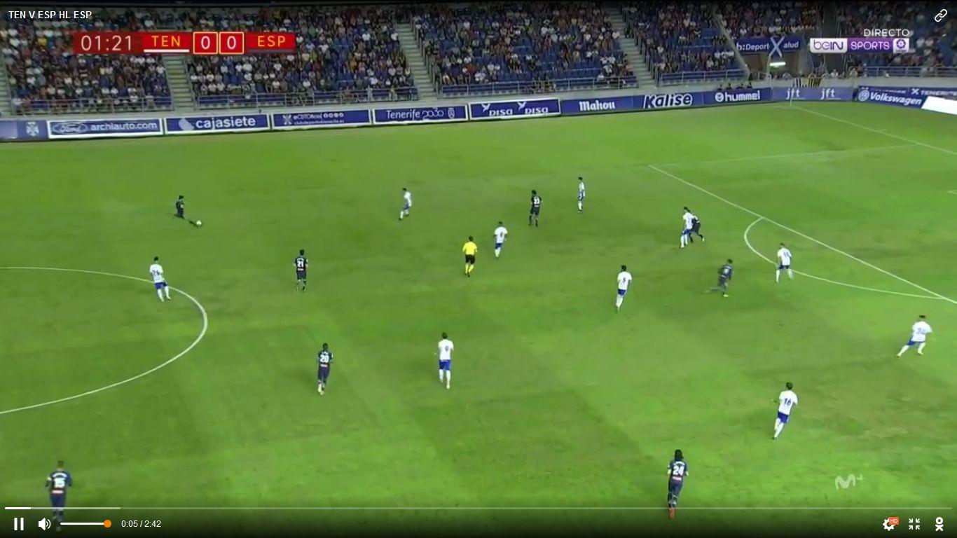 26-10-2017 - Tenerife 0-0 Espanyol (COPA DEL REY)
