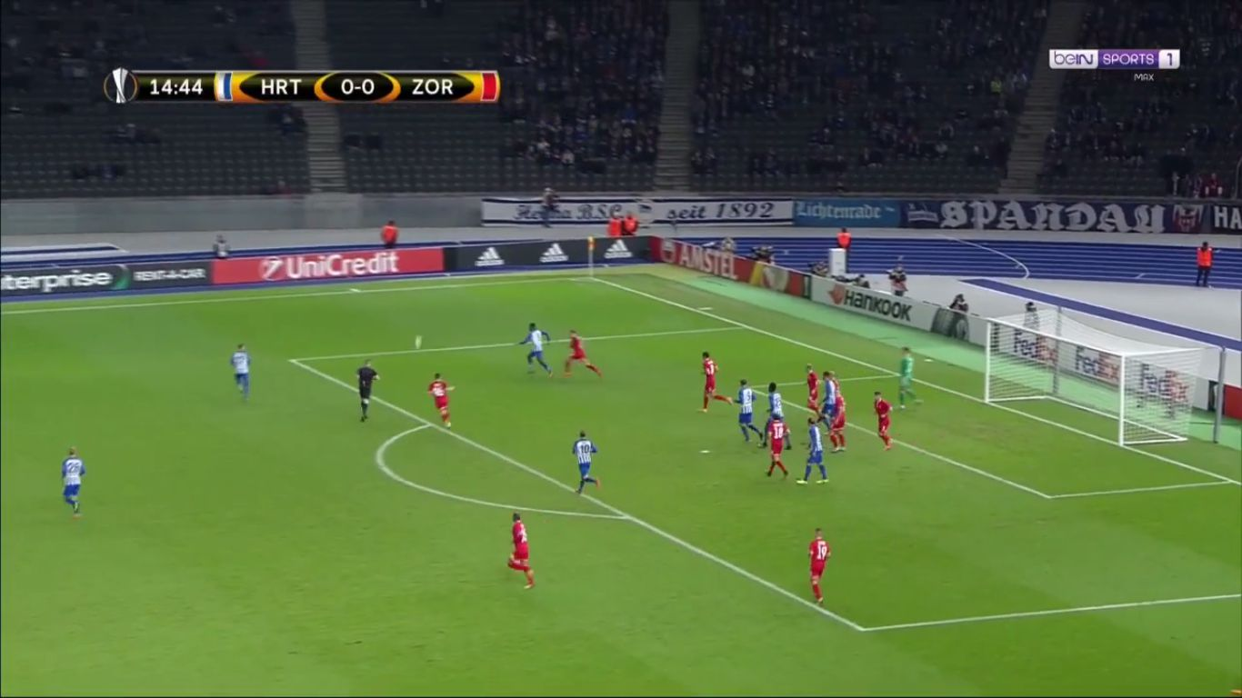 02-11-2017 - Hertha Berlin 2-0 Zorya (EUROPA LEAGUE)