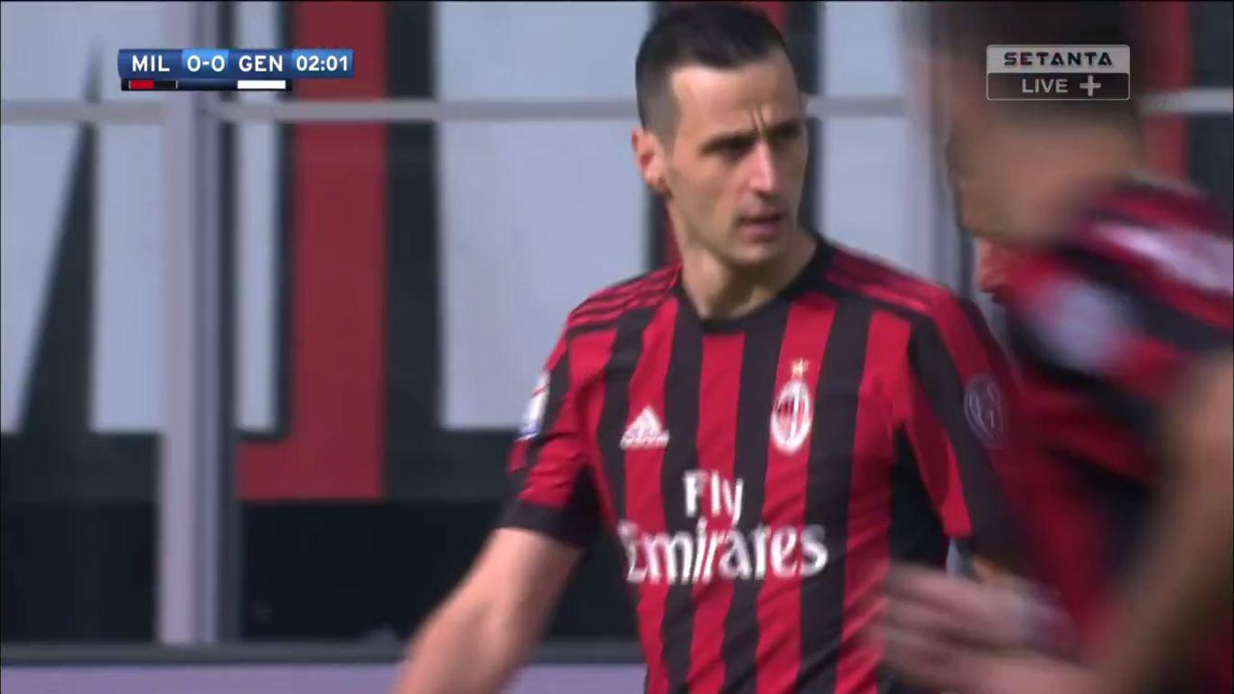 22-10-2017 - AC Milan 0-0 Genoa