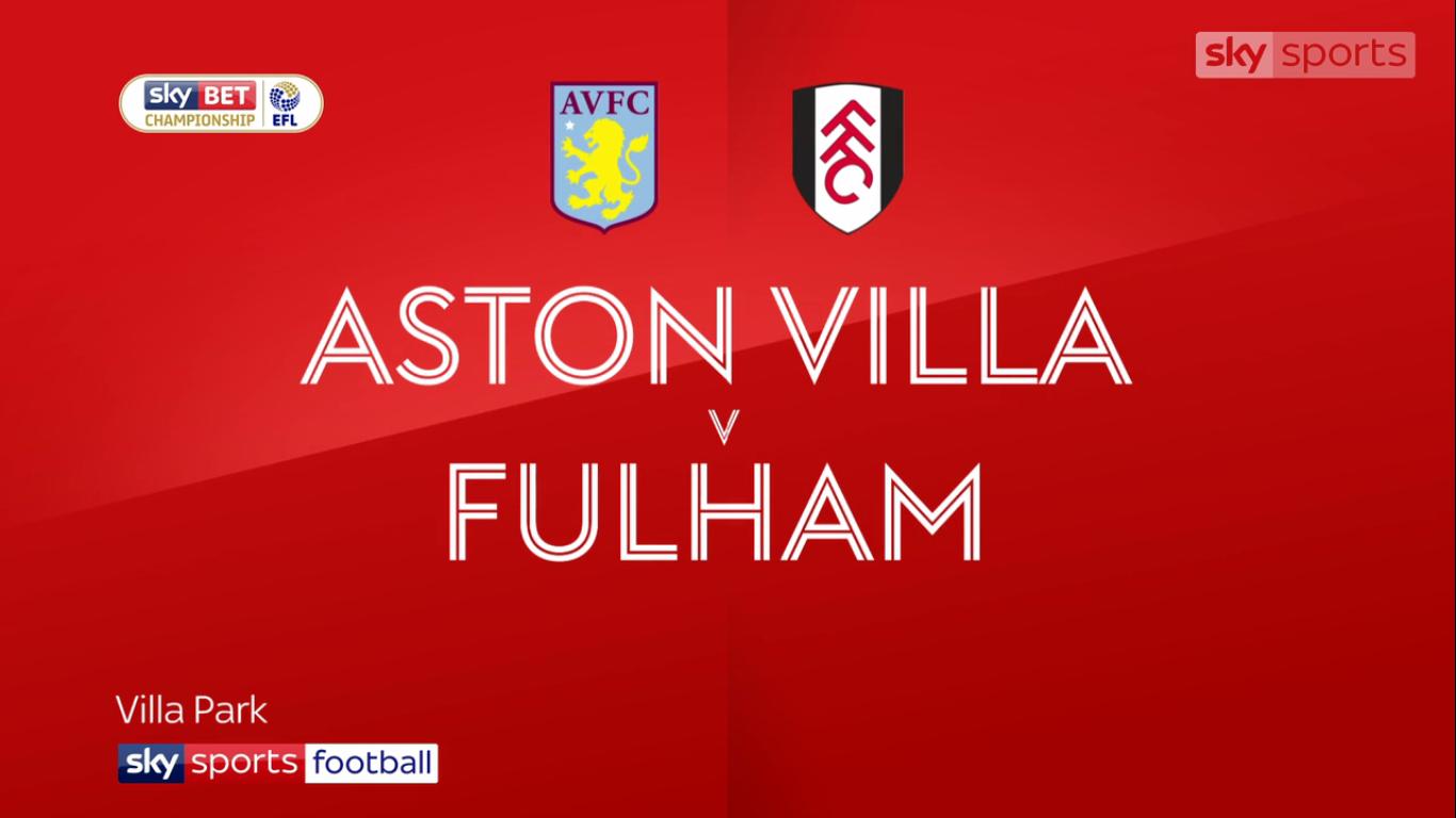 21-10-2017 - Aston Villa 2-1 Fulham (CHAMPIONSHIP)