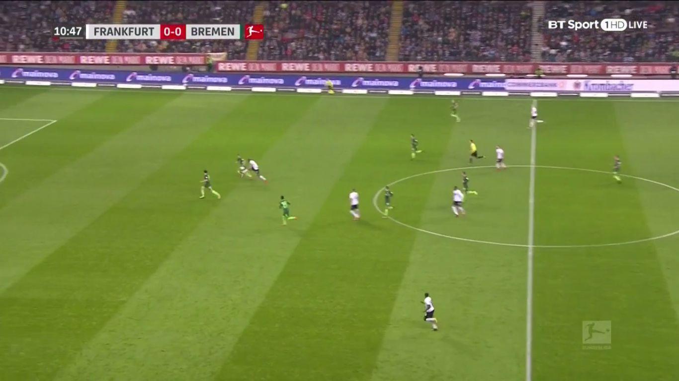 03-11-2017 - Eintracht Frankfurt 2-1 Werder Bremen