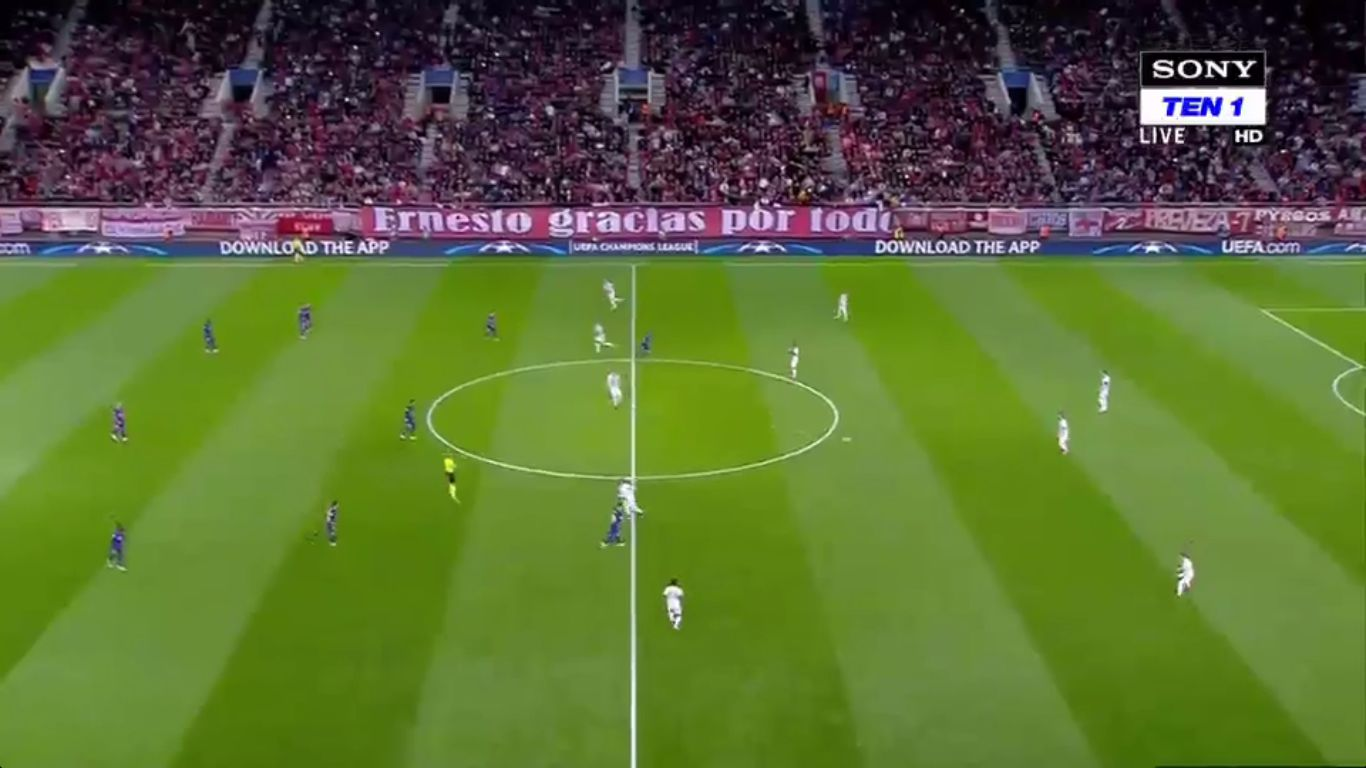 31-10-2017 - Olympiacos 0-0 Barcelona (CHAMPIONS LEAGUE)