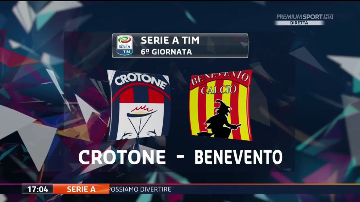 24-09-2017 - Crotone 2-0 Benevento