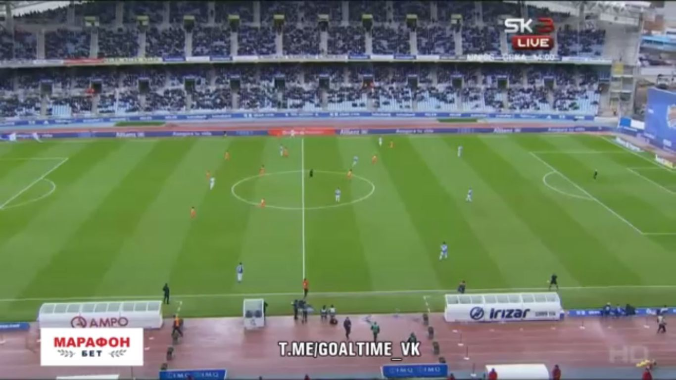 10-12-2017 - Real Sociedad 0-2 Malaga