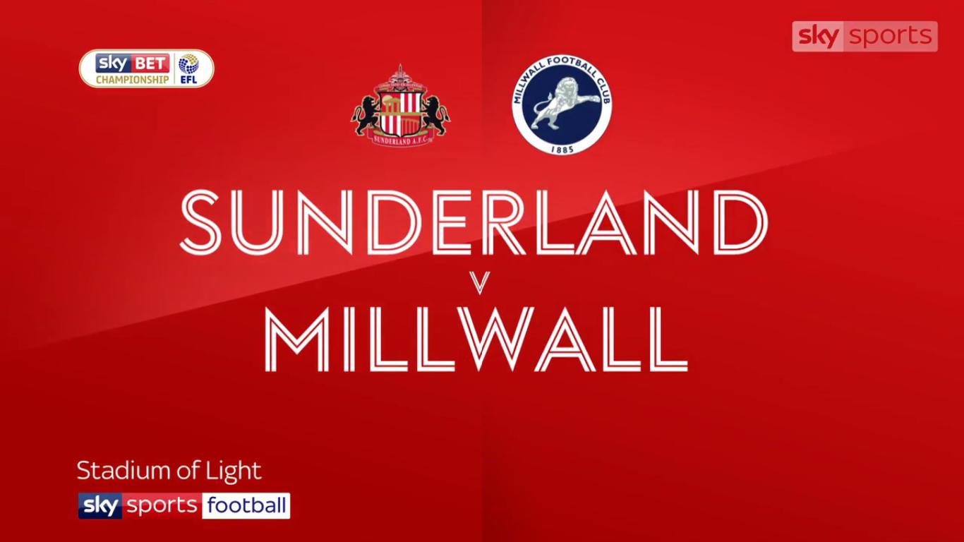 18-11-2017 - Sunderland 2-2 Millwall (CHAMPIONSHIP)