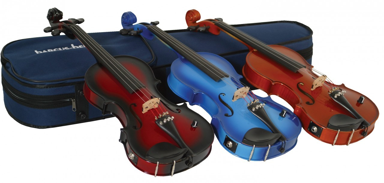 Coloured Violin Or Not