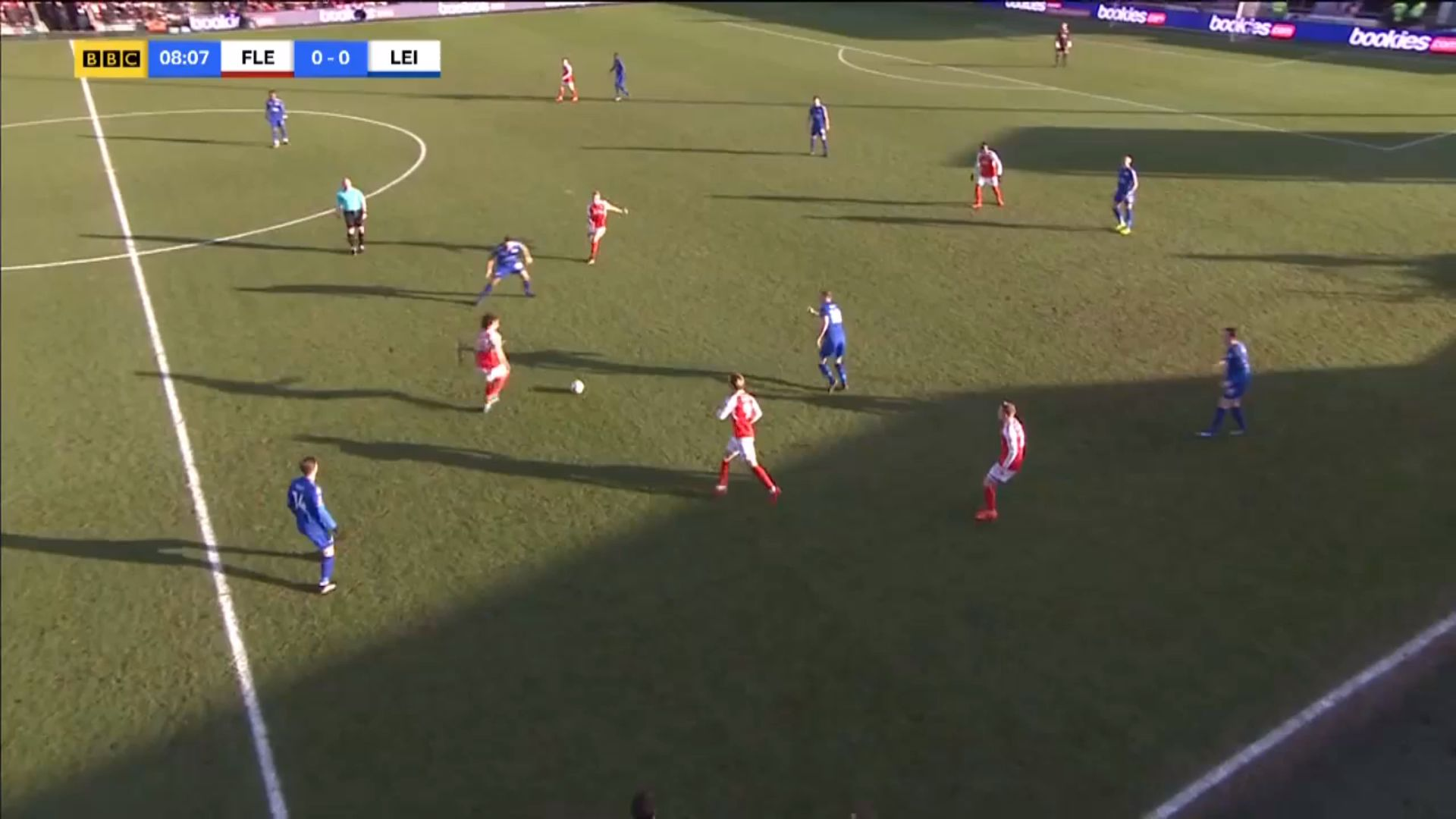 06-01-2018 - Fleetwood Town 0-0 Leicester City (FA CUP)