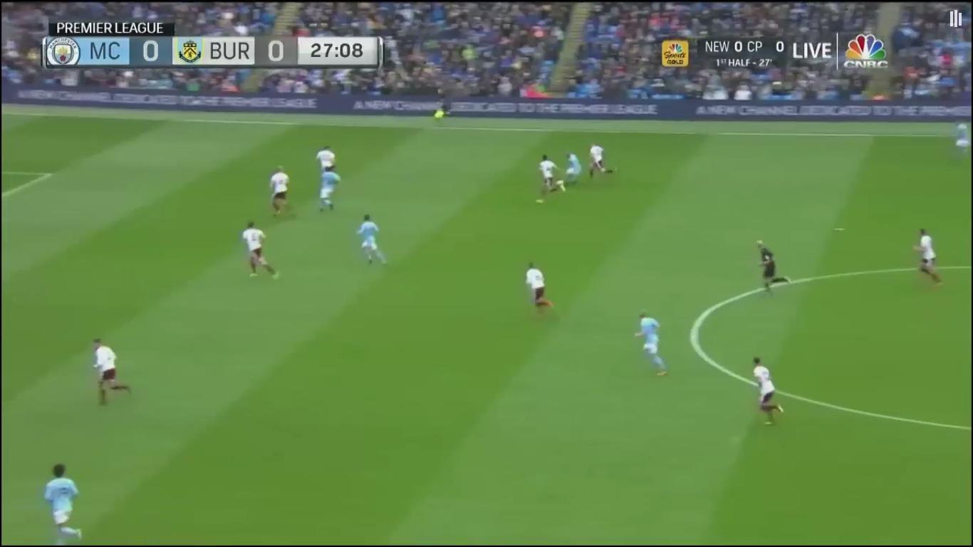 21-10-2017 - Manchester City 3-0 Burnley