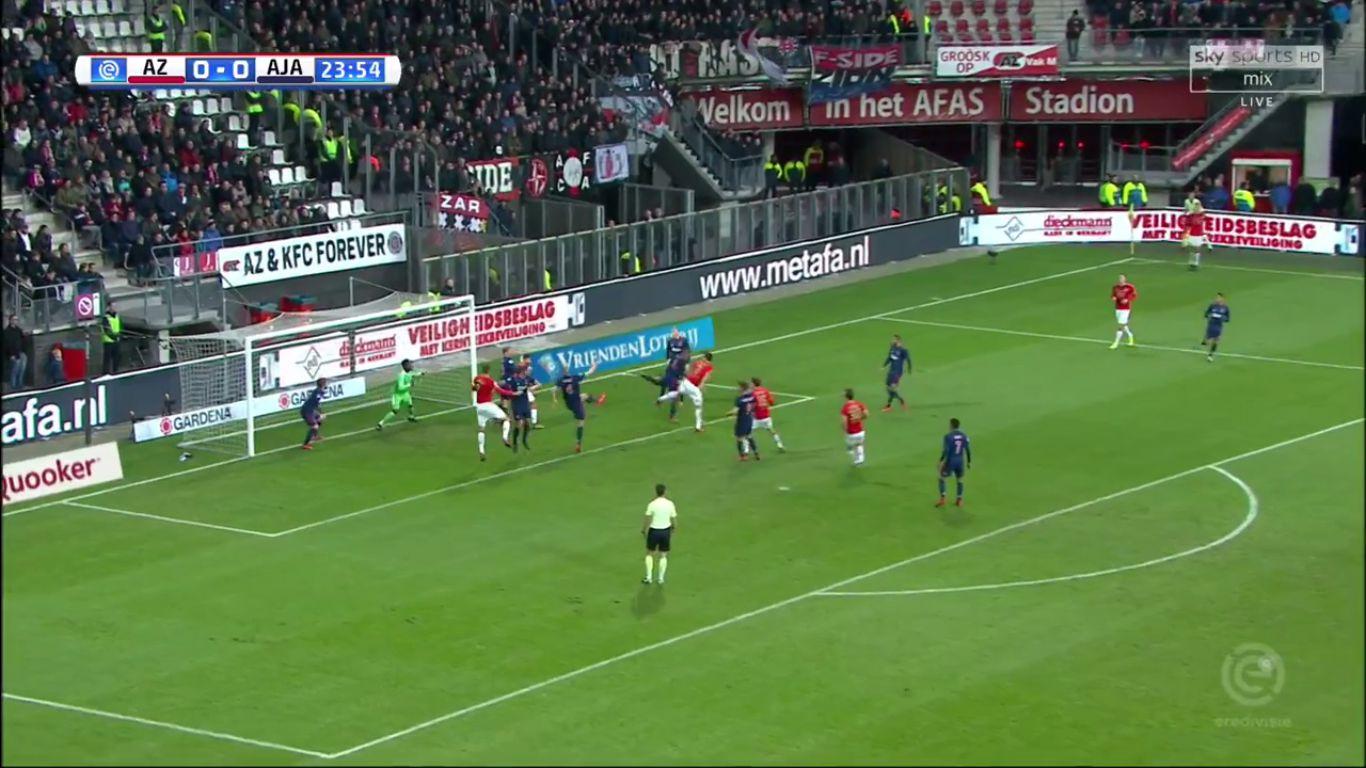 17-12-2017 - AZ Alkmaar 1-2 Ajax