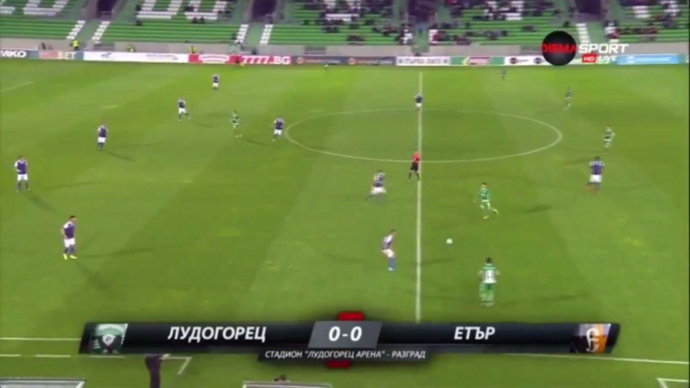 23-10-2017 - Ludogorets Razgrad 4-0 Etar