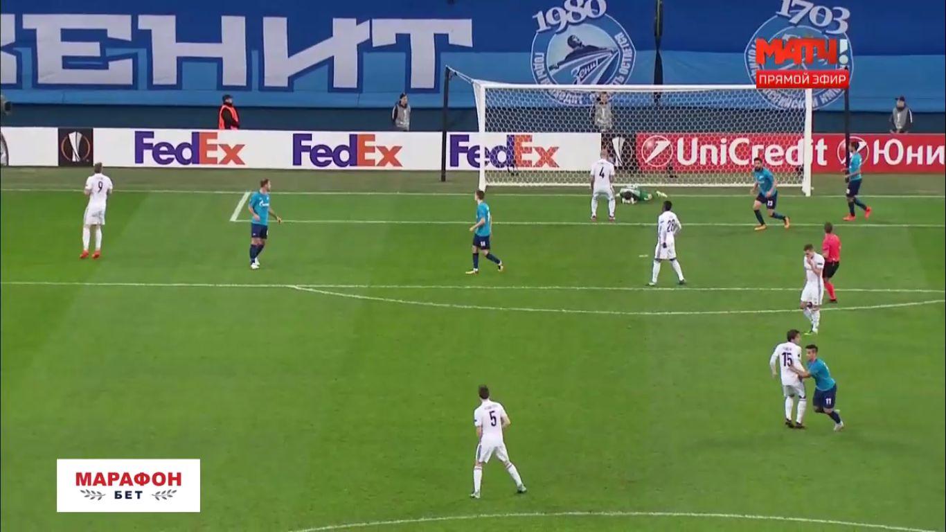 19-10-2017 - Zenit St. Petersburg 3-1 Rosenborg (EUROPA LEAGUE)