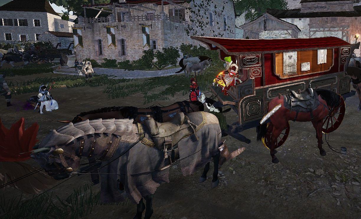 Gefärbte Kutsche löscht Pferde Farbe - In-Game Bugs - The Black ...