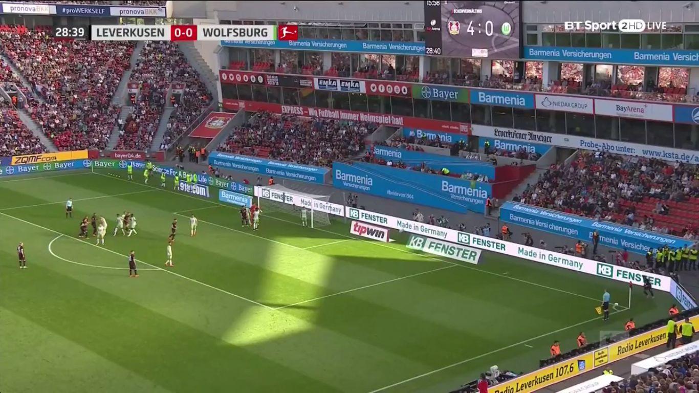 15-10-2017 - Bayer Leverkusen 2-2 Wolfsburg