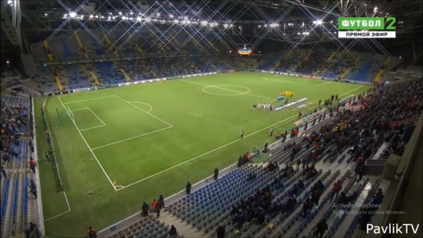 19-10-2017 - FC Astana 4-0 Maccabi Tel Aviv (EUROPA LEAGUE)