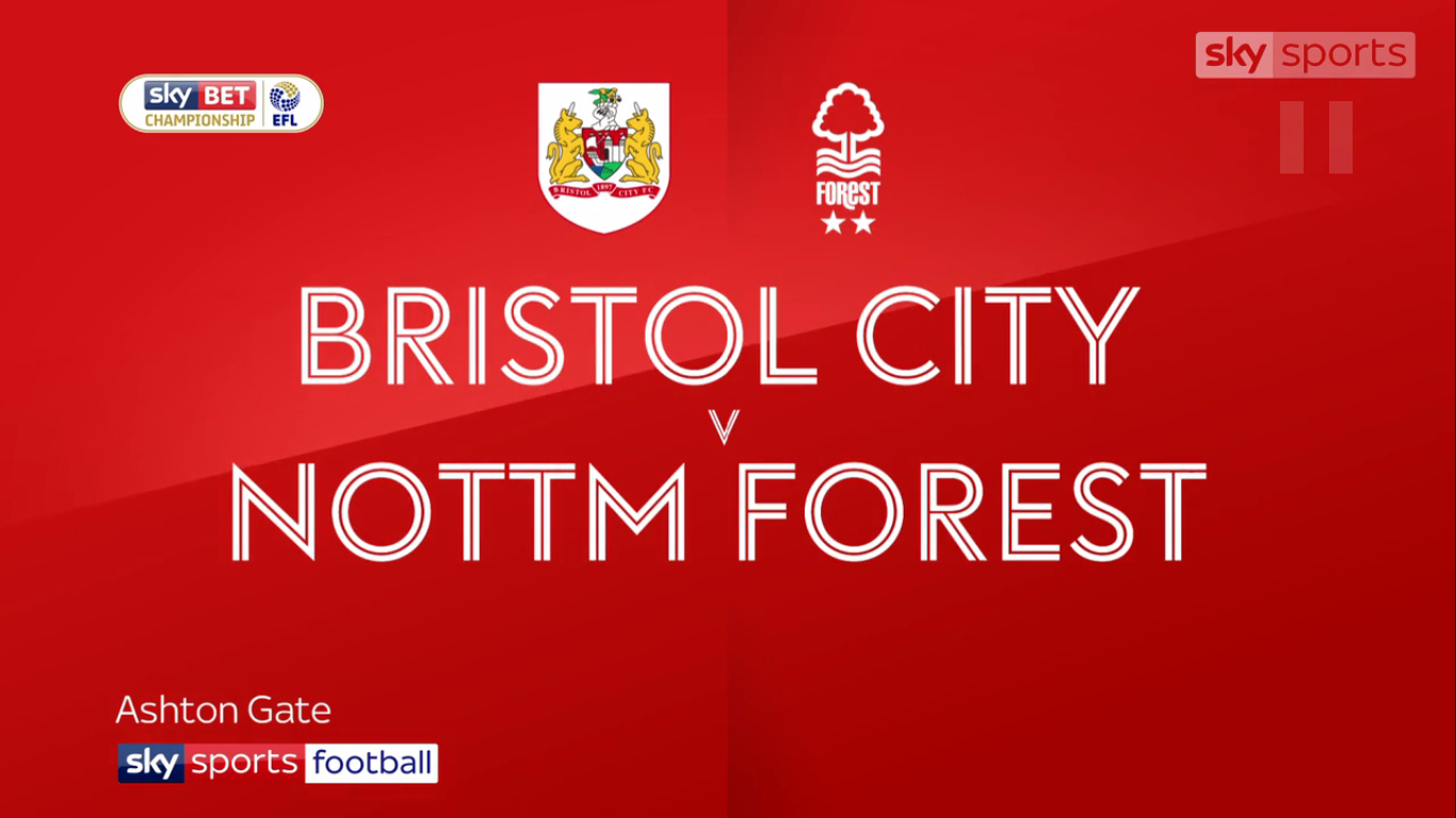 16-12-2017 - Bristol City 2-1 Nottingham Forest (CHAMPIONSHIP)