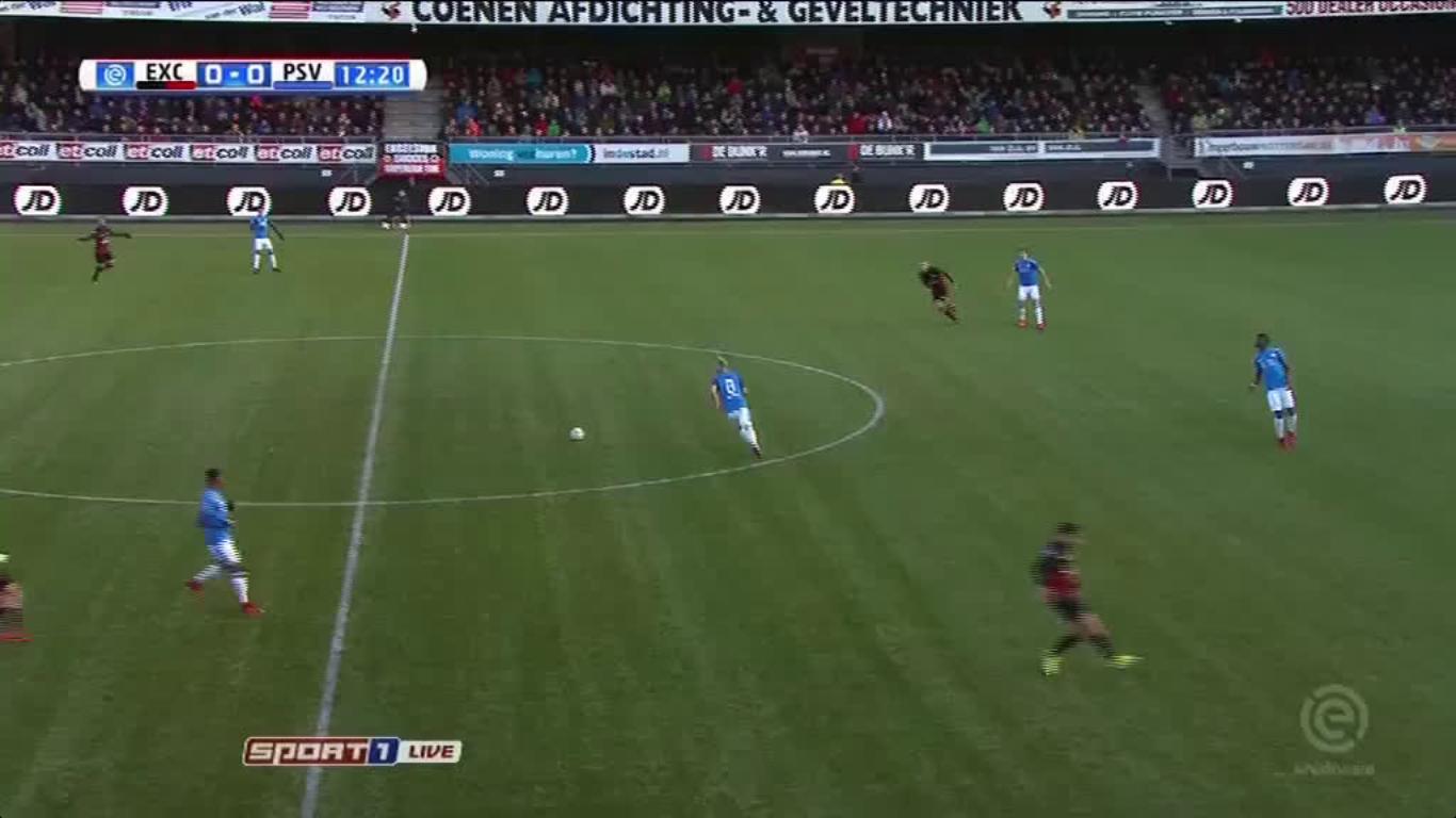 26-11-2017 - Excelsior 1-2 PSV Eindhoven