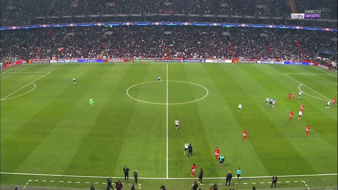 01-11-2017 - Besiktas 1-1 Monaco (CHAMPIONS LEAGUE)