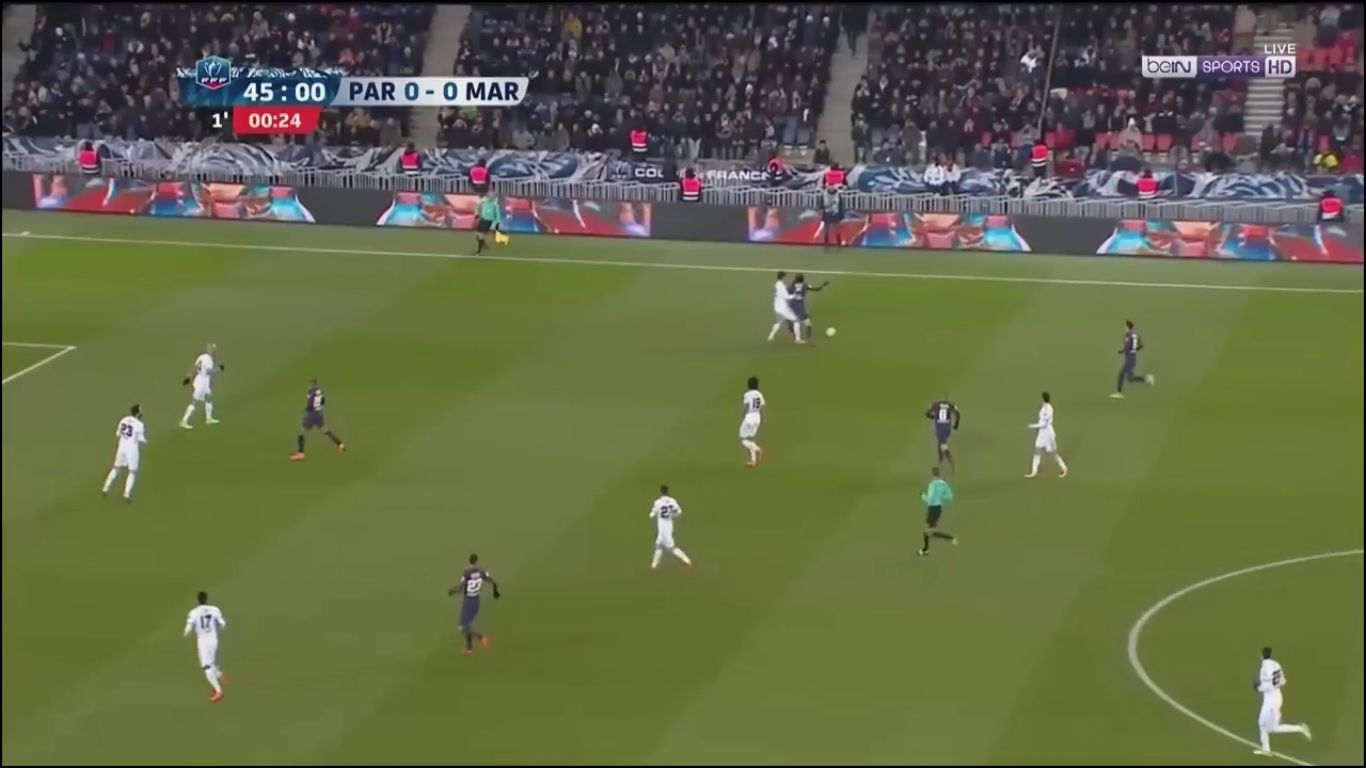 28-02-2018 - Paris Saint Germain 3-0 Marseille (COUP DE FRANCE)