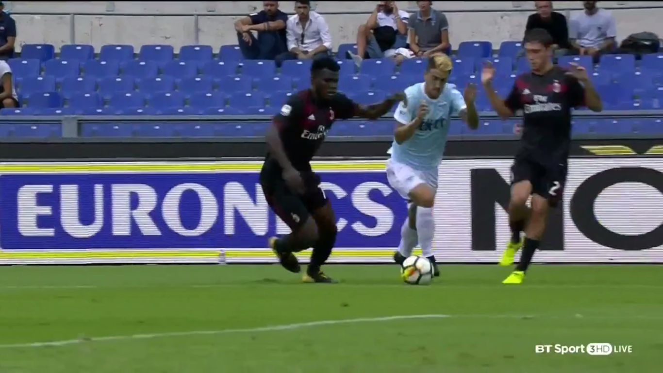 10-09-2017 - Lazio 4-1 AC Milan