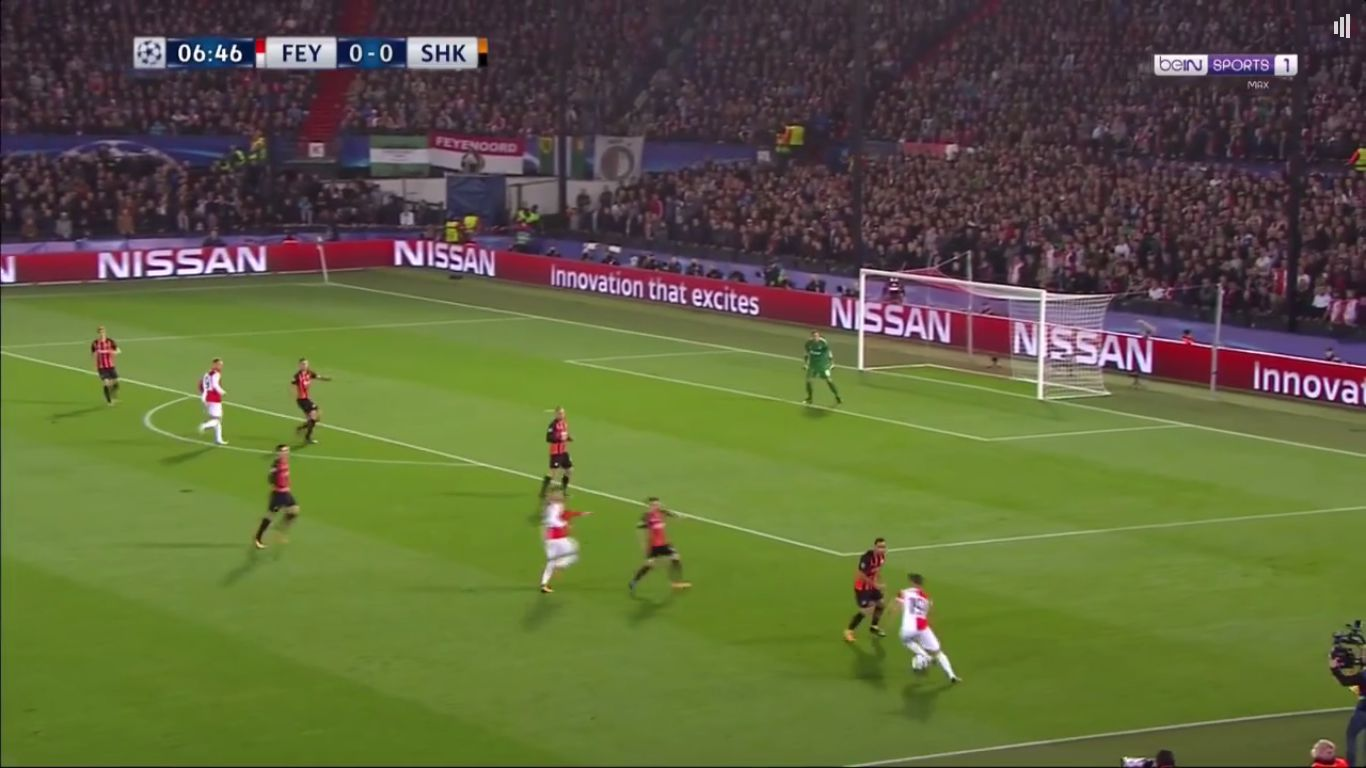 17-10-2017 - Feyenoord 1-2 Shakhtar Donetsk (CHAMPIONS LEAGUE)