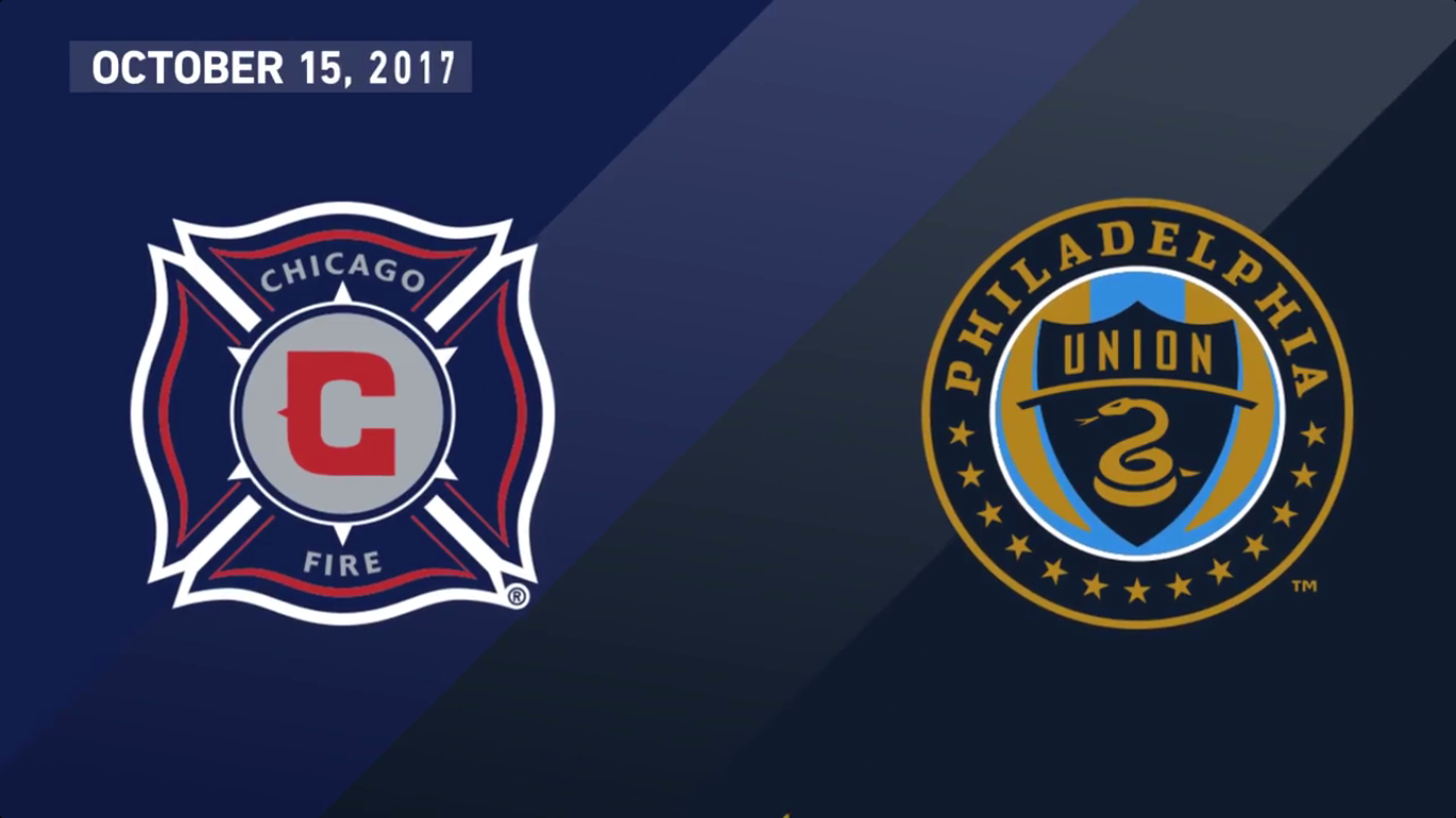 16-10-2017 - Chicago Fire 3-2 Philadelphia Union
