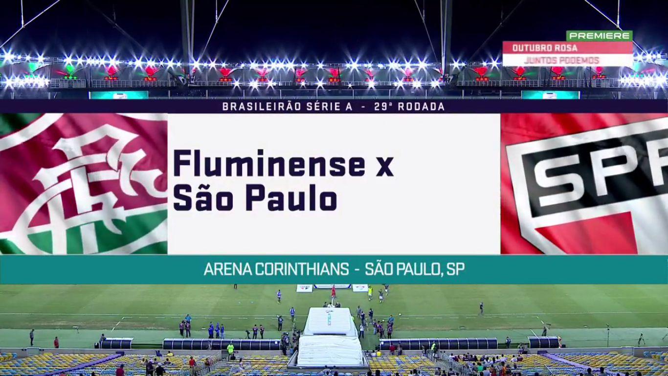 19-10-2017 - Fluminense 3-1 Sao Paulo