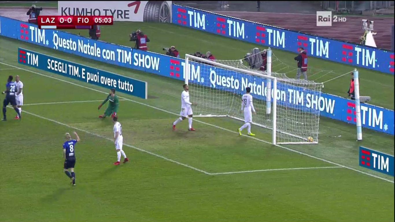 26-12-2017 - Lazio 1-0 Fiorentina (COPPA ITALIA)