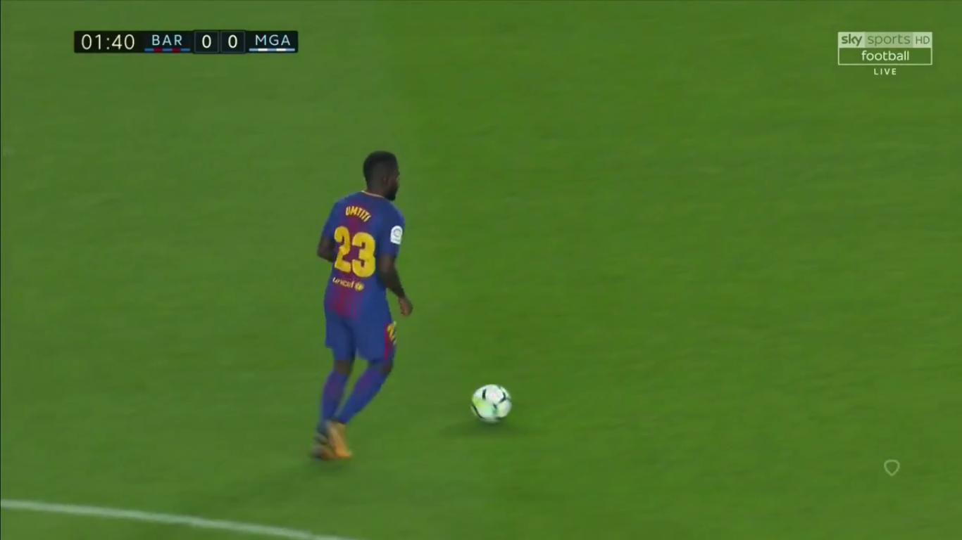 21-10-2017 - Barcelona 2-0 Malaga