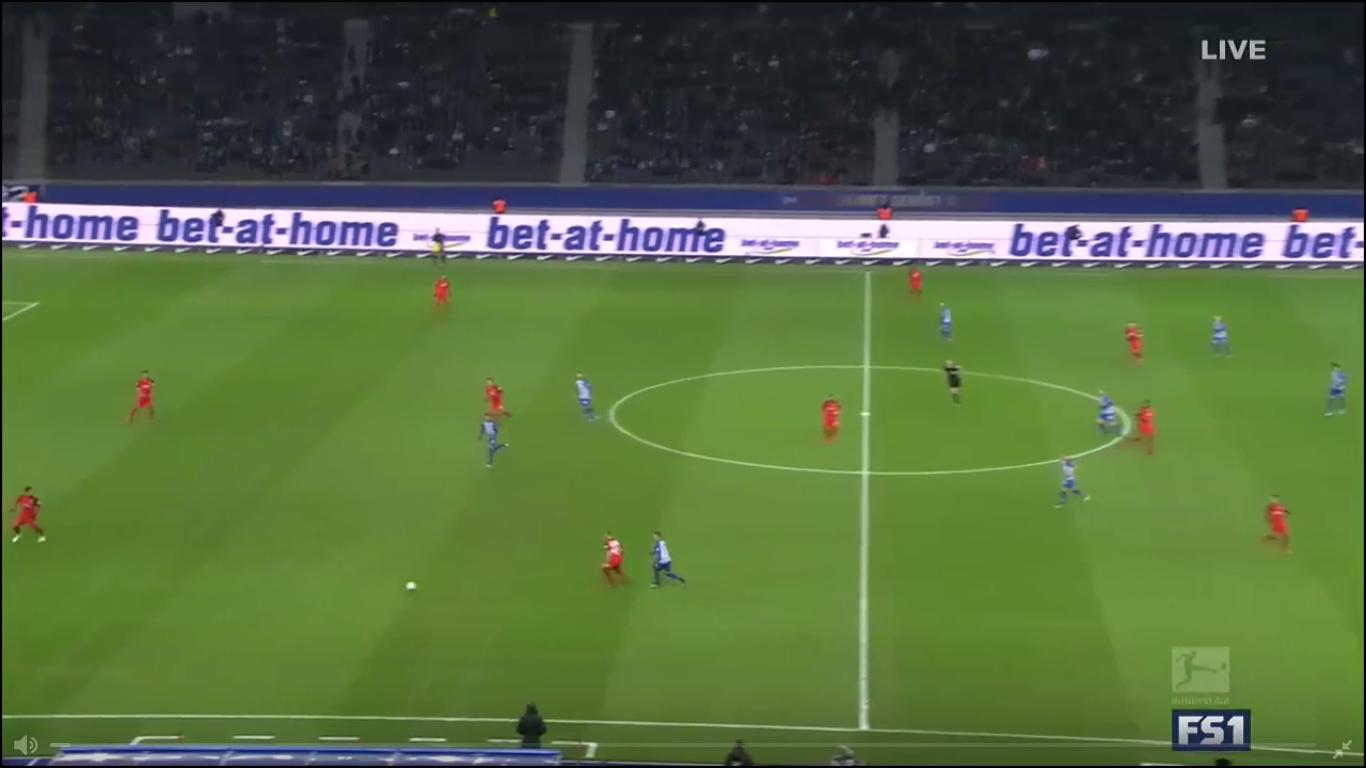 03-12-2017 - Hertha Berlin 1-2 Eintracht Frankfurt